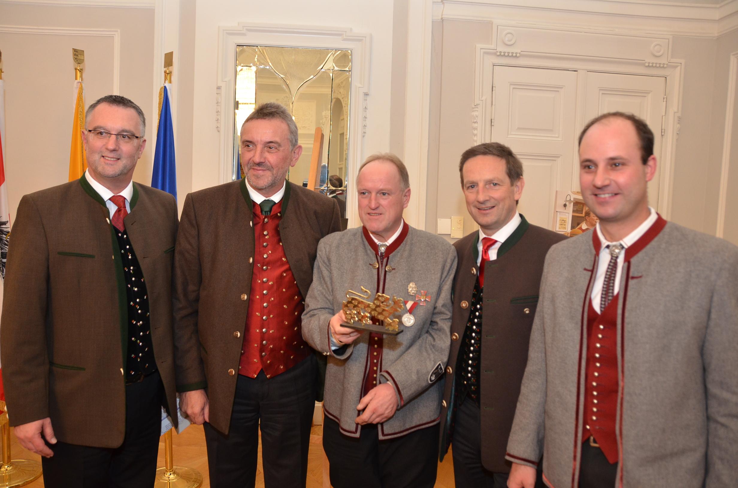 Kärntner Löwe 2014_Verleihung